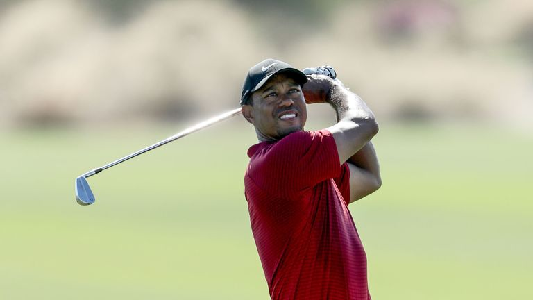 Tiger Woods makes his first appearance of the year at Torrey Pines