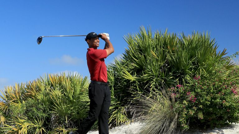 Woods fought hard on the back nine and made four birdies in five holes