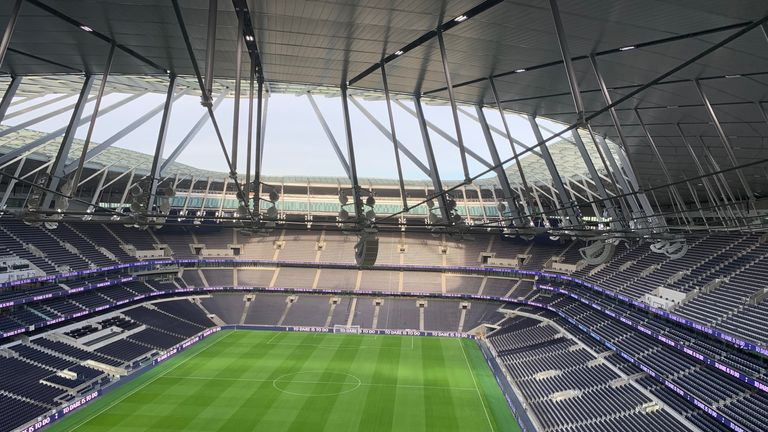 Inside Tottenham's new stadium (Copyright: Nick Gregor)