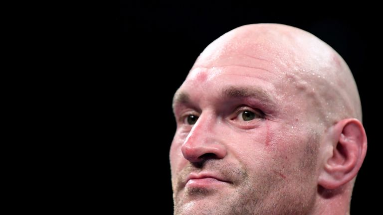 Tyson Fury makes surprise Anthony Joshua demand about Jarrell Miller fight