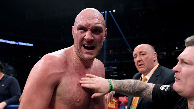 Tyson Fury says he deserved points win over Deontay Wilder after being forced to settle for a draw | Boxing News |
