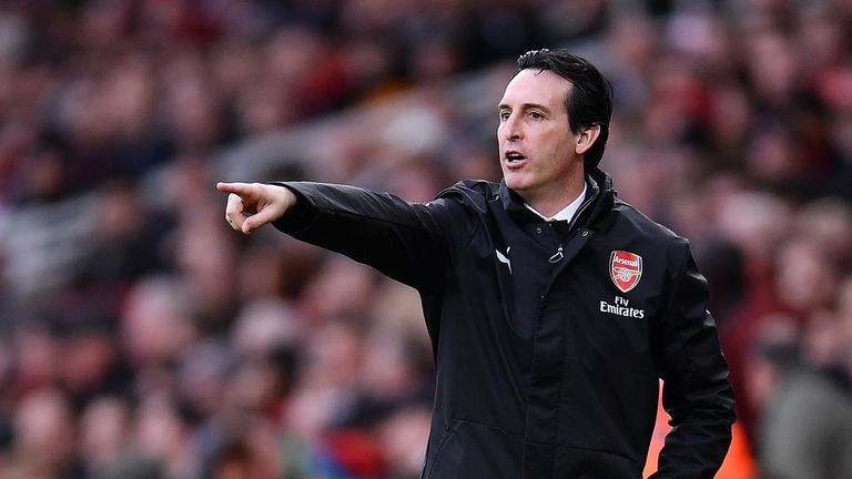 Unai Emery's Arsenal have already qualified for the knockout phase