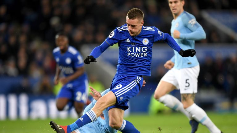 Jamie Vardy has vowed to adapt to Puel's style of play