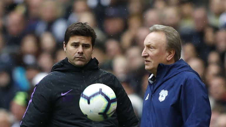 Neil Warnock says Tottenham will fall short in the title race this season
