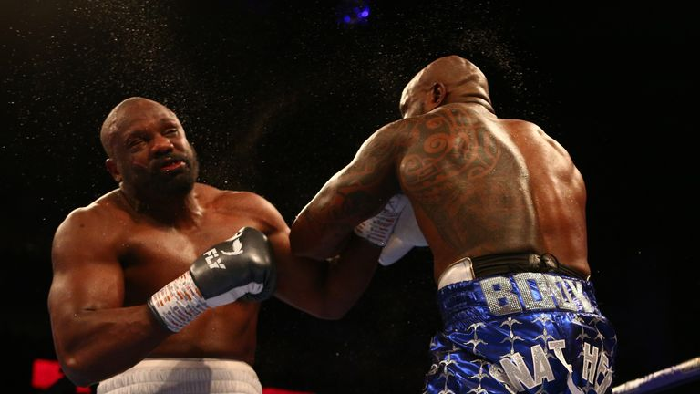 Whyte had completed a destructive win over Derek Chisora