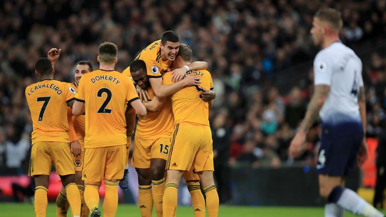 Wolves have lost just one of their last six league games