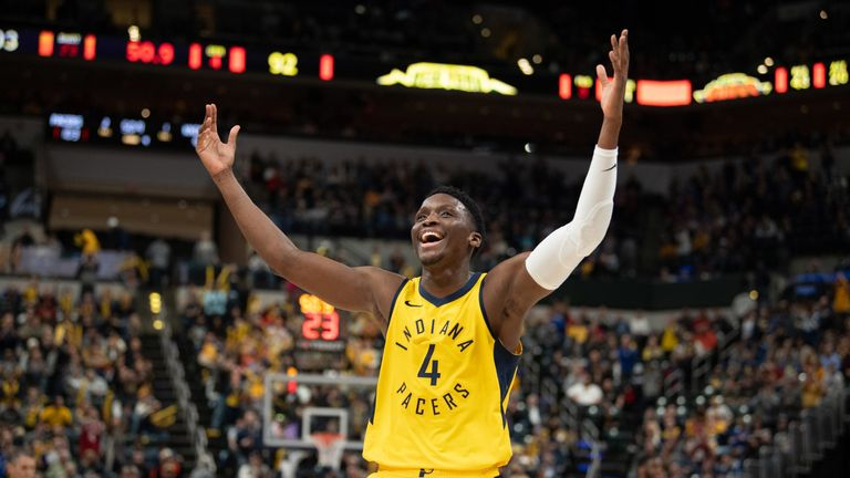 Victor Oladipo has returned from injury to boost the Pacers