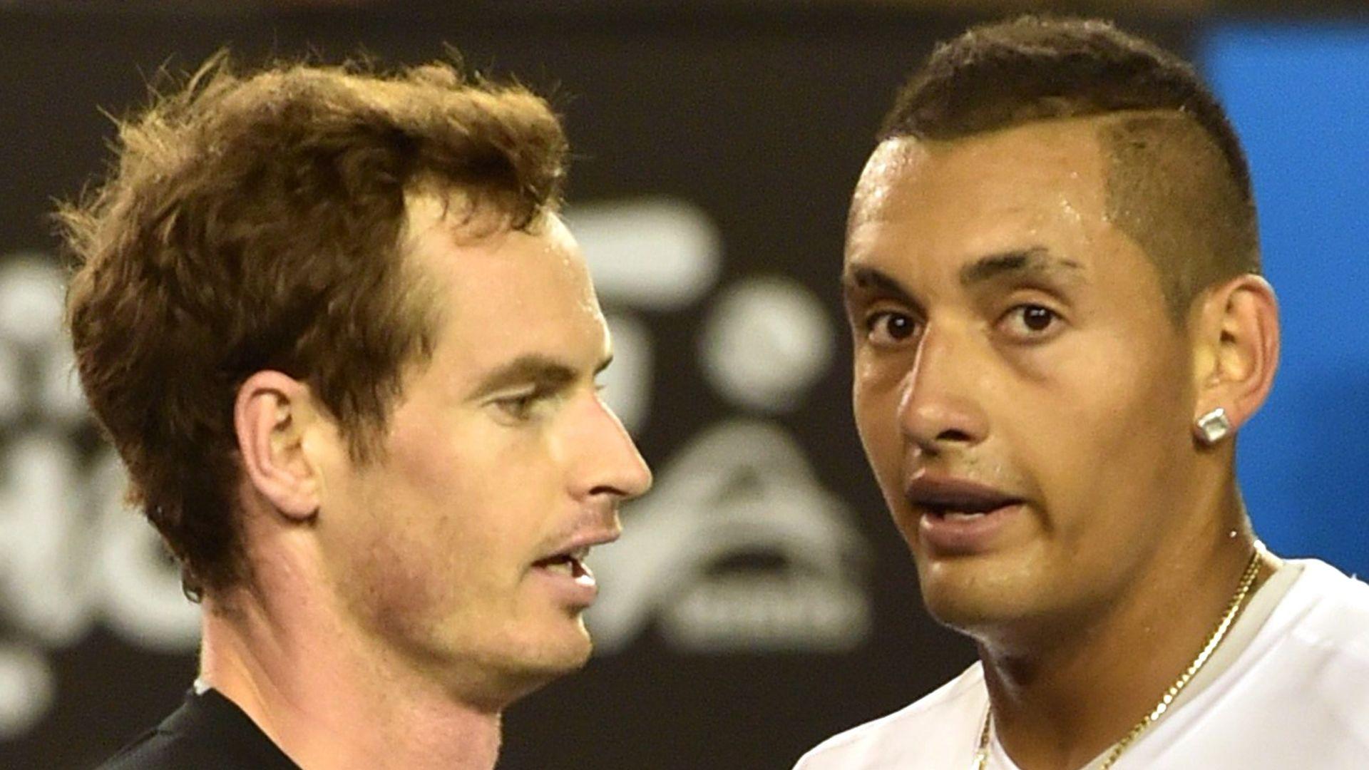 Tipsy Kyrgios tells Murray: You're better than Djokovic