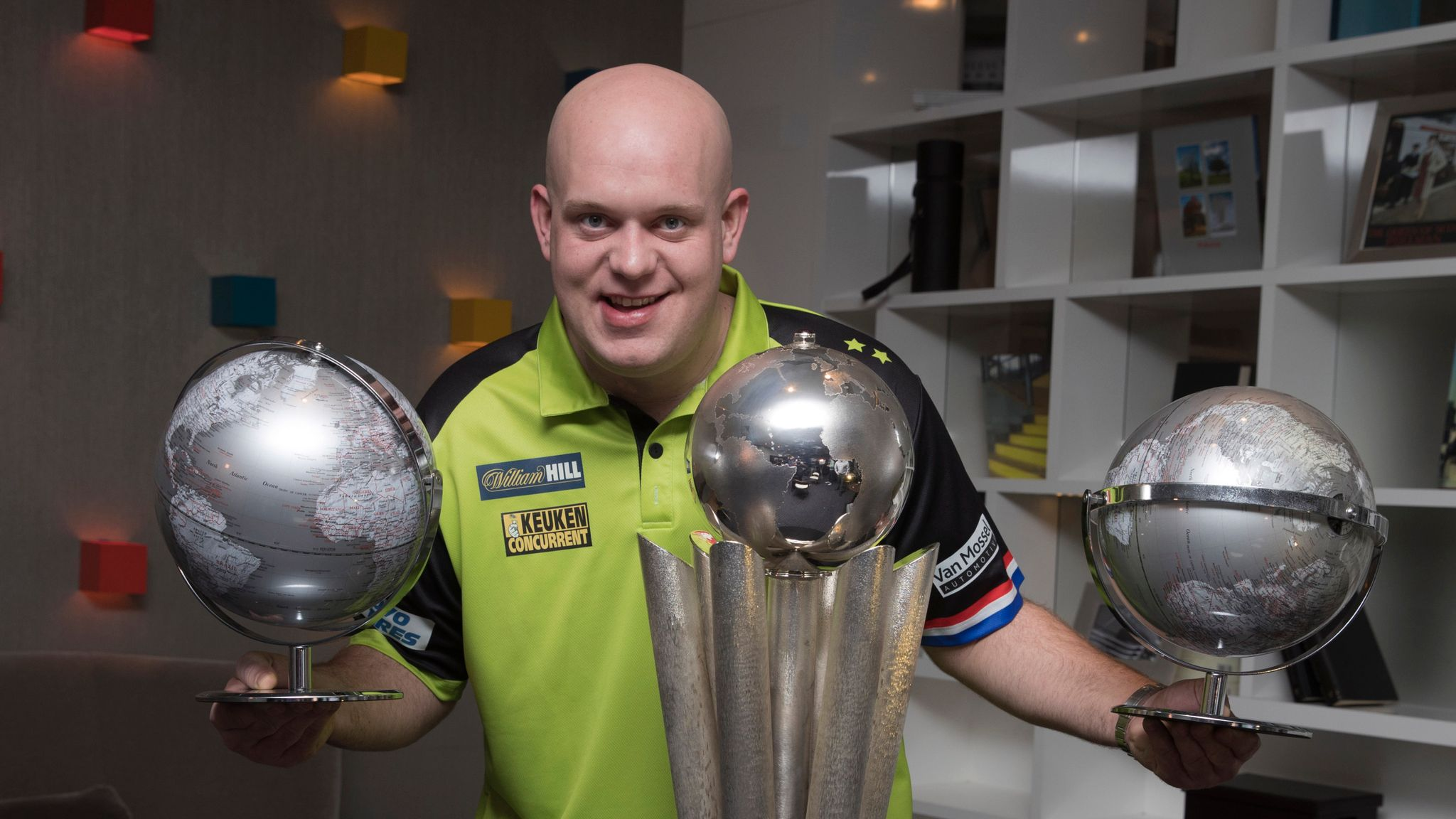 PDC World Darts Championship in numbers
