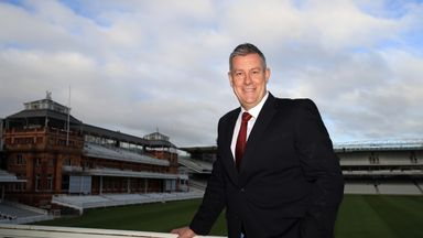 Ashley Giles was appointed as England director of cricket in December 2018