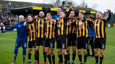 Auchinleck Talbot knocked out Ayr on Saturday in a fourth round upset