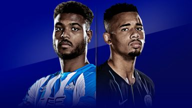 Huddersfield host Man City live on Sky Sports Premier League on Sunday from 12.30pm