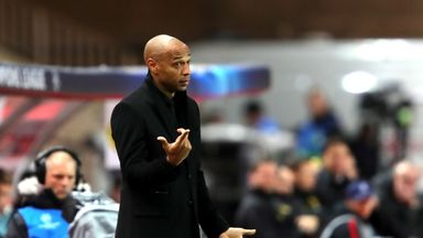 Thierry Henry was sacked by Monaco in January