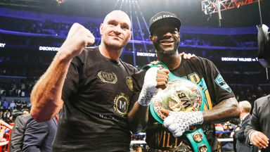 WBC champion Deontay Wilder and Tyson Fury are holding talks about a rematch