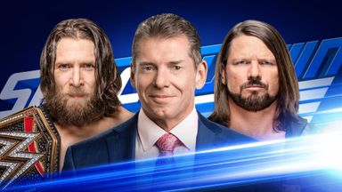 Vince McMahon will moderate a head to head between WWE champion Daniel Bryan and AJ Styles on tonight's SmackDown