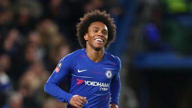 Chelsea turn down £35m Willian bids