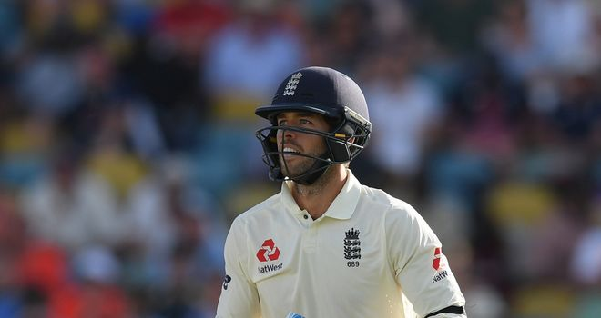 Root falls as England stumble to tea