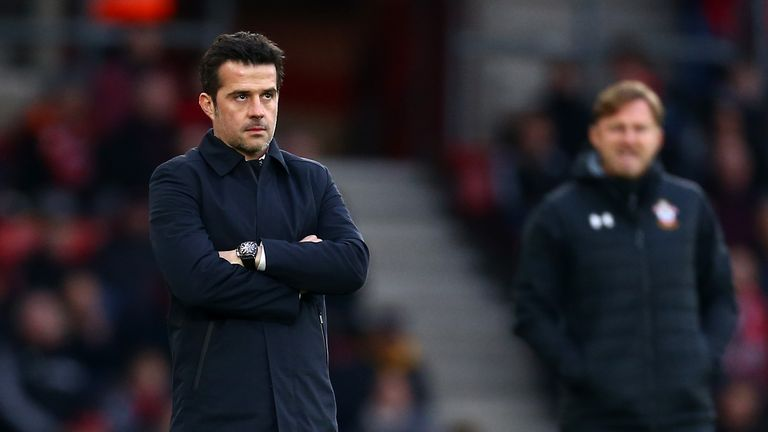 Marco Silva's Everton have struggled in recent months