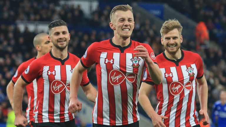Highlights from Southampton's 2-1 win over Leicester in the Premier League