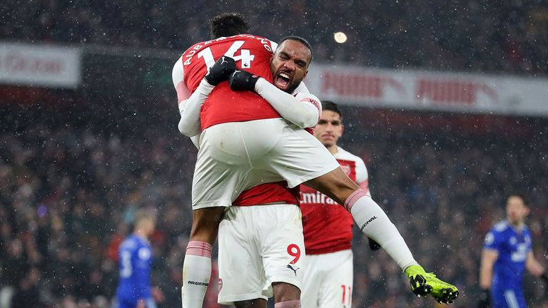 Highlights from Arsenal's 2-1 win over Cardiff in the Premier League