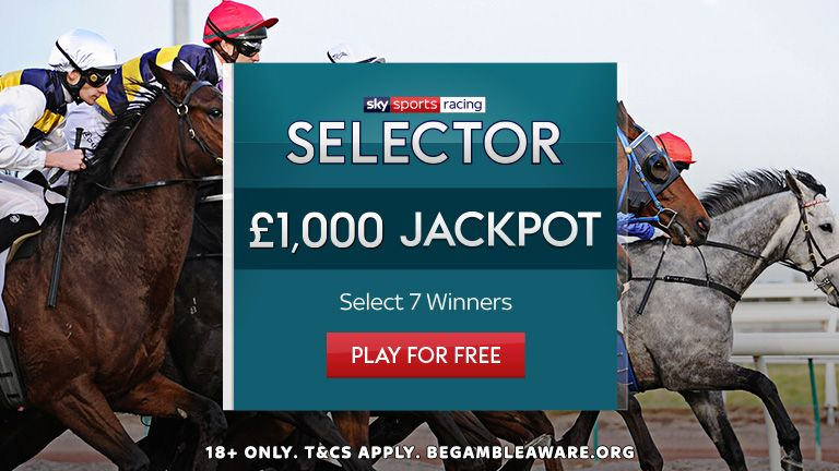 Play Sky Sports Racing Selector for a chance to win the £1,000 Jackpot