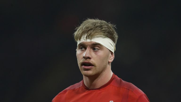 Wales' 21-year-old back-row Aaron Wainwright made his first Test start during the autumn
