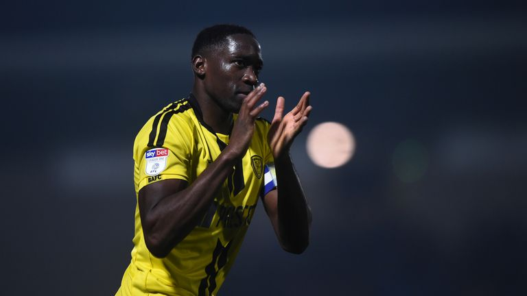 Lucas Akins was voted Burton Albion's Player of the Season last year by both fans and players