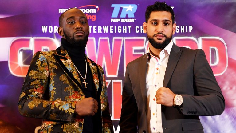 Terence Crawford and Amir Khan will meet on April 20