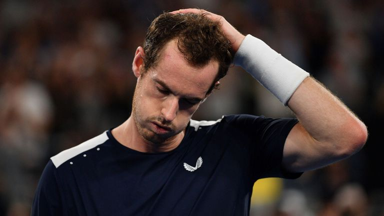 Andy Murray underwent hip resurfacing surgery in January