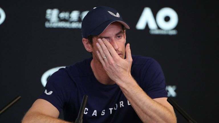'I've been in pain for 20 months' - Murray reveals the extent of his struggles with a hip injury