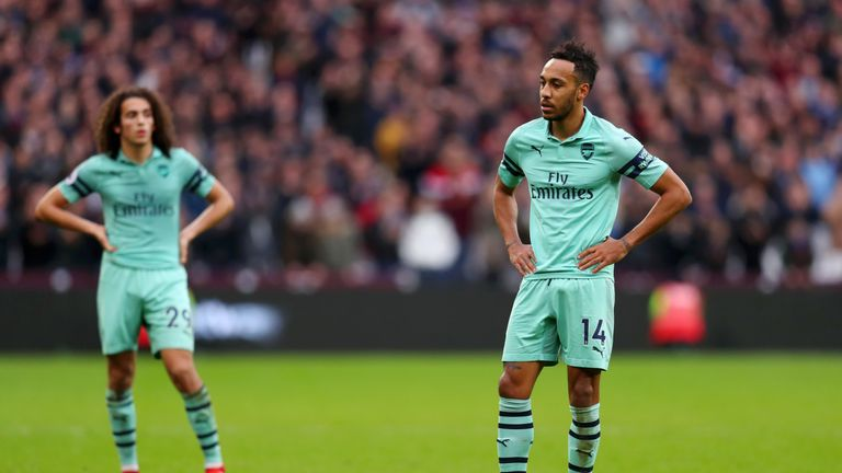 Arsenal were not at their best at the London Stadium on Saturday