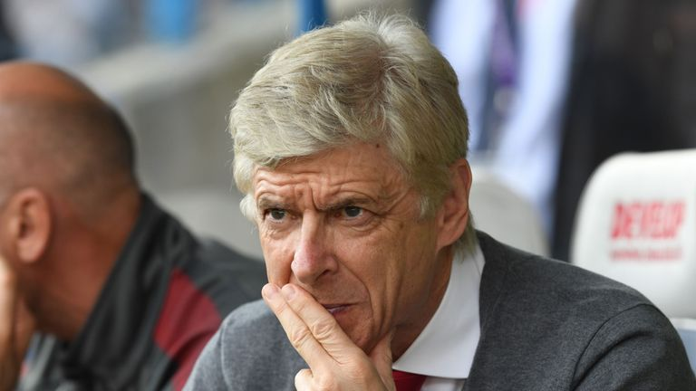 Wenger's 22-year reign at Arsenal came to an end last summer