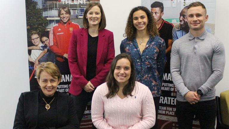 Baroness Tanni Grey-Thompson, Helen Richardson-Walsh, Jade Jones-Hall, Molly Thompson-Smith and Carl Frampton spoke at an event this week about their athlete activism
