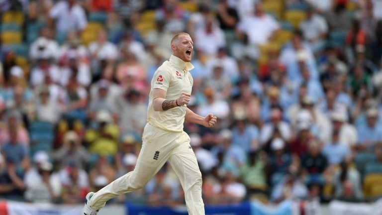 Ben Stokes took two wickets in five balls to kick-start England's recovery in the second session
