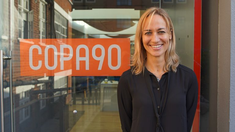 COPA90 appointed Smith as global executive director of the women's game