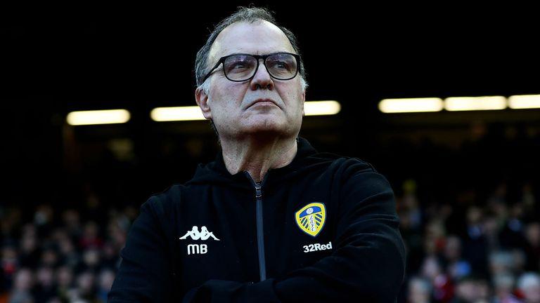 Leeds boss Marcelo Bielsa