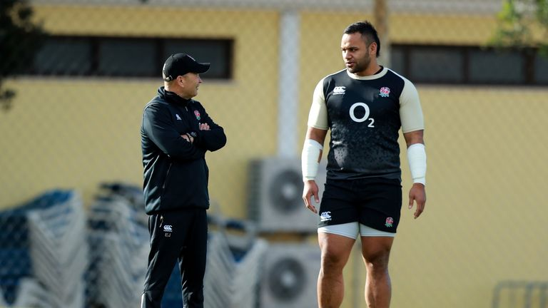 On Saturday, Billy Vunipola will be playing in just his third Test since March 2017