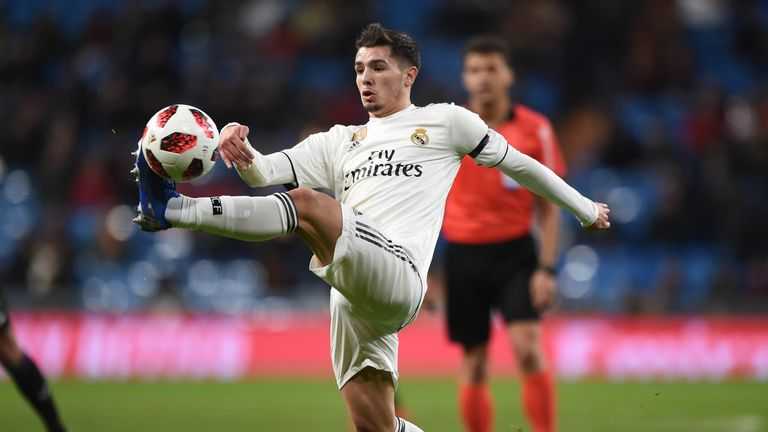 Brahim Diaz signed for Real Madrid from Manchester City on Monday