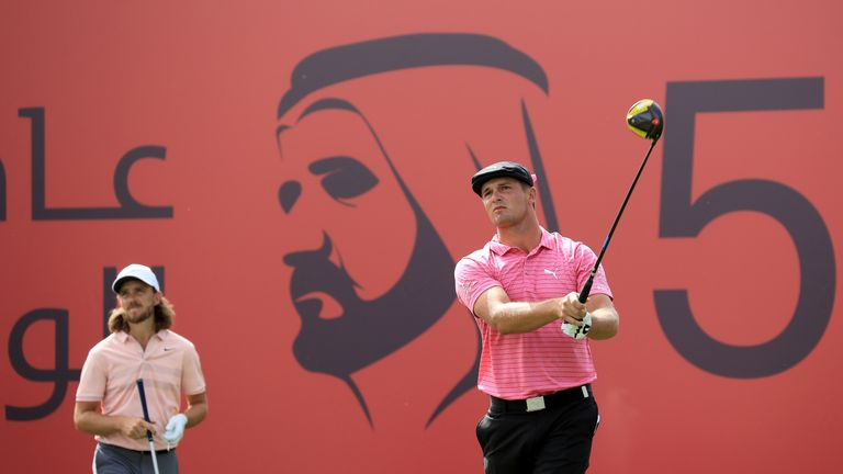 Dubai Desert Classic: Ernie Els shines as Bryson DeChambeau maintains fine form