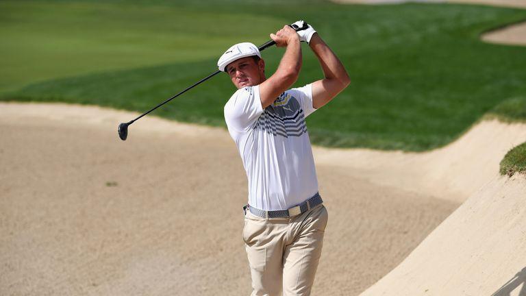 Bryson DeChambeau co-leads in Dubai while Ernie Els lurks