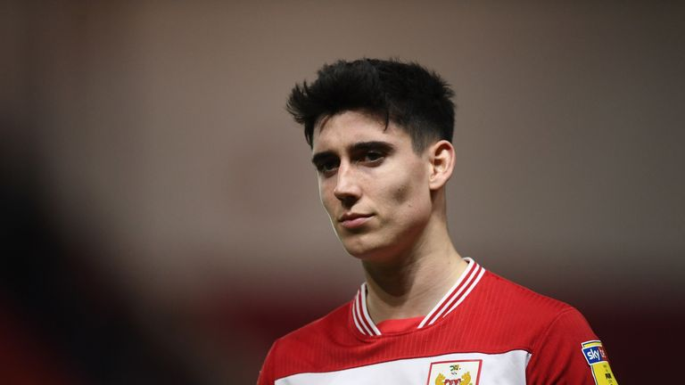 Bristol City winger Callum O'Dowda is a target for Leeds