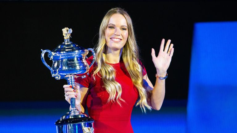 Caroline Wozniacki will open the defence of her title against Alison van Uytvanck