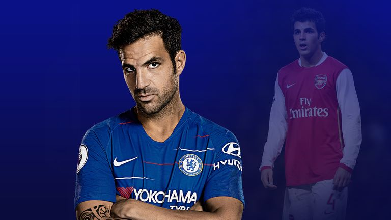 Cesc Fabregas established himself as a key figure at Chelsea and Arsenal