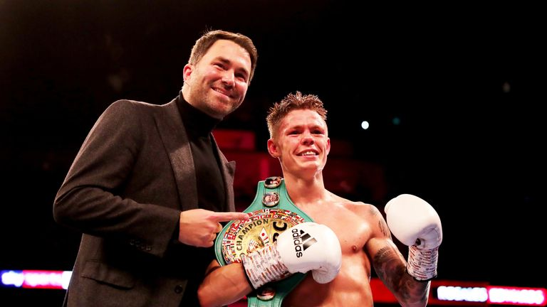 Edwards will assess his options with promoter Eddie Hearn