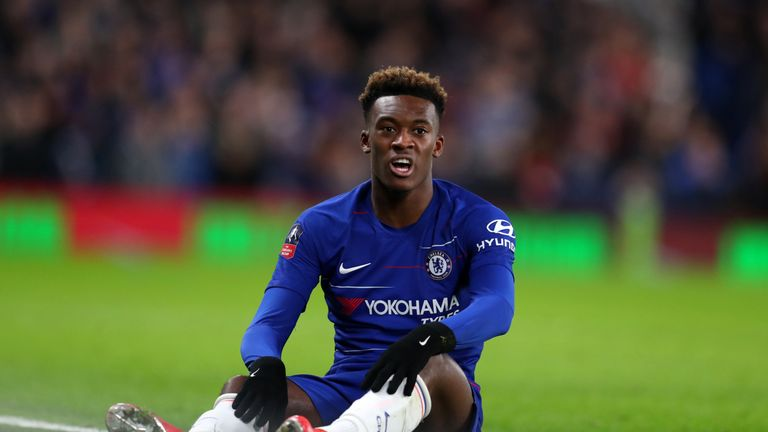 Chelsea have rejected Callum Hudson-Odoi's transfer request