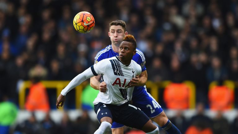 Clinton N'Jie spent two years on the books at Tottenham