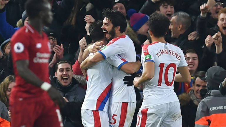 Crystal Palace have struggled for goals this season despite scoring three times in both away games at Liverpool and Manchester City