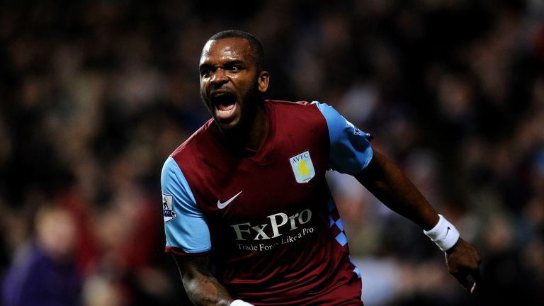Darren Bent was a record signing for Villa