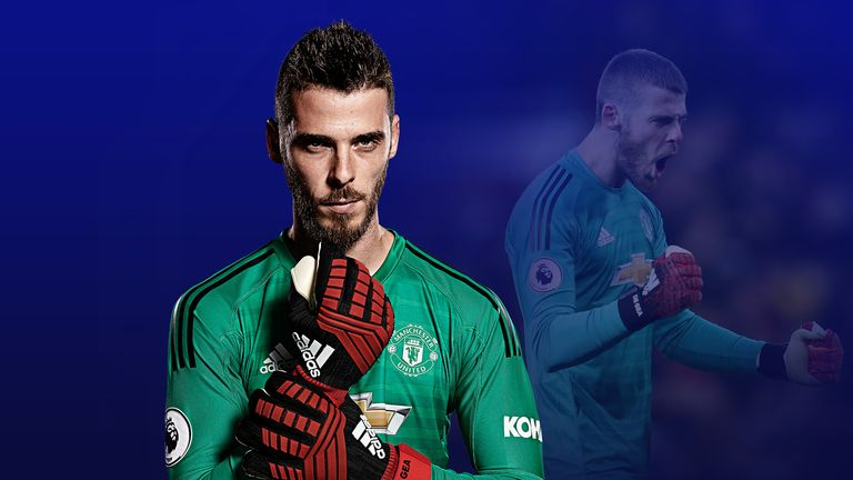19dae348719 Manchester United's David de Gea is changing goalkeeping with his approach