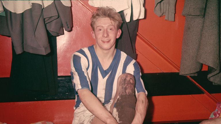 Law at Huddersfield Town (Pic: Don Morley/Allsport)